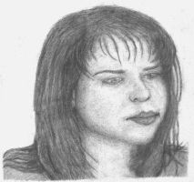 One of my drawings of an actress by mcsoftware