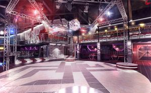 Night Club Interior by doubleagent2005