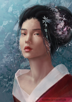 [Study] Chinese Queen by RoanNna