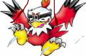 hawkmon_tickled by footmaster