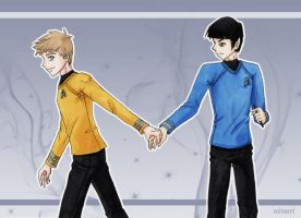 KS: Hold My Hand by niirasri
