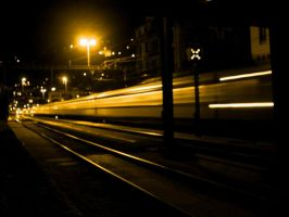 Train at Night 2 by dectus
