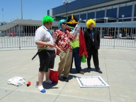 Anime Expo The Fake Strawhats by DelphiniumFleur