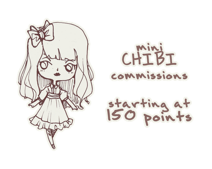 Mini-Chibi Points Commissions by Ninelyn