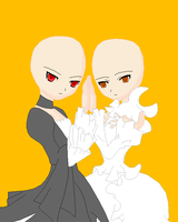 Base Request: Twins by Goldflower8