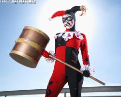Beat-up Harley Quinn by Enasni-V