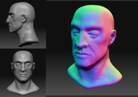 ZBrush Test Head by crMeyer
