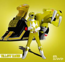 Yellow Ranger (MMPR)/Tiger Ranger by M3trisjm92