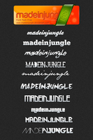 Font Pack madeinjungle by madeinjungle