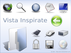 Vista Inspirate by sa ki Iconos para Windows XP