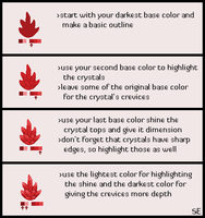 Pixel Crystal Tutorial by Scar-eye