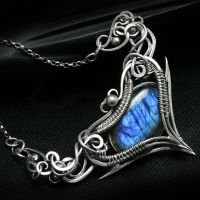 DHARTIEEL Silver and Labradorite by LUNARIEEN