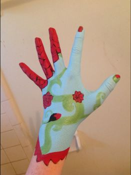 Painted Glove by UselessFangirlInLove