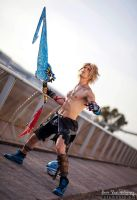 Tidus - Final Fantasy Cosplay by Leon Chiro FFX by LeonChiroCosplayArt