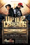 Hip Hop Legends Flyer by hueyangdesigns