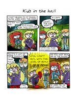 1.18 Kids in the hall by trivialtales