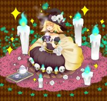 SS: Candle Light Tea Time by manisaurus