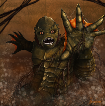 Creature from the Black Lagoon by MarshalGraham