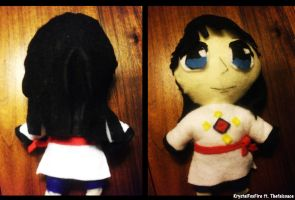 Ranma 1 2- Mousse Plushie by thefalcoace
