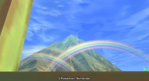 Rainbow from the Tree House by GoldLeafGardenia