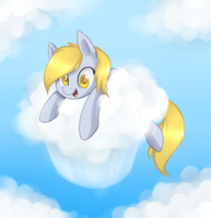 Cloudy Muffin by ILightningStarI