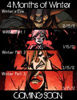 Winter Comic Dates by angieness