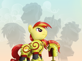 Cdr. Sunburst: The 4 Generals and The Grand Master by MillennialDan