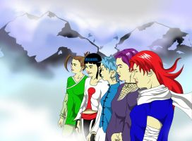 Naruto Females by Dominican-Franklyn