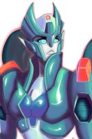 Chromia bust by DarkLordZafiel