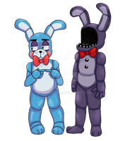 Bonnie and Bonnie by TairusuKU