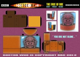 Doctor Who - The Face of Boe by mikedaws