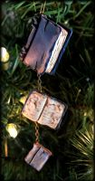 Beloved Book Ornament by NeverlandJewelry
