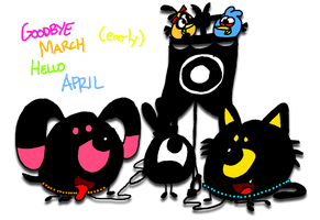 Final Picture for this month of March (early) by AngryBirdsStuff