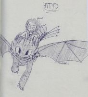 How To Train Your Dragon by sailor663