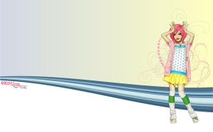 1440x900 Colorz Wallpaper by chikaex0tica