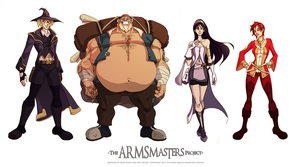 ARMSmasters Color Line Up by mikewinn