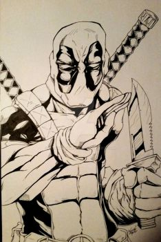 Deadpool by kdawggomab