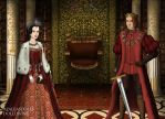 The Empress and Her Emperor by MoonMaiden37