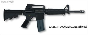 Colt M4A1 Carbine by Rusty100