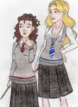 Becca and Bree by DeaDiscordia