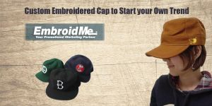 Custom Embroidered Caps by embroidmedecatural