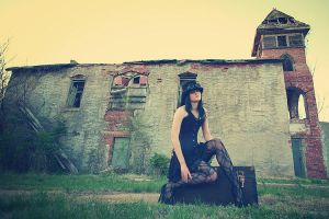 Abandoned buildings shoot with David and Randy 5 by xxskullsxx