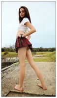 Kathryn - tartan 4 by wildplaces