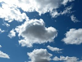 Clouds in a Blue Sky by Michies-Photographyy
