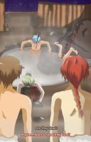night at the hotsprings by Pyogo0909
