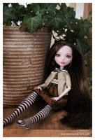 Amber (OOAK MH doll) by Lunai