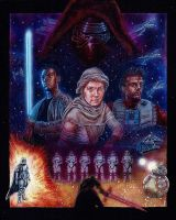 THE FORCE AWAKENS by DannyNicholas