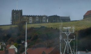 Whitby St Mary's on the Cliff top by illusiveexistence