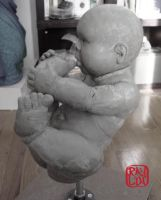 Life Size Baby Boy WIP 3 by artanis-one