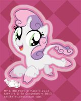 Sweetie Belle by nattherat